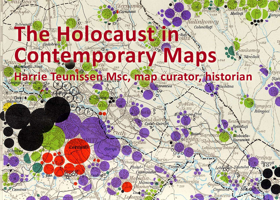 Concentration Camps In Europe Map.The Holocaust In Contemporary Maps