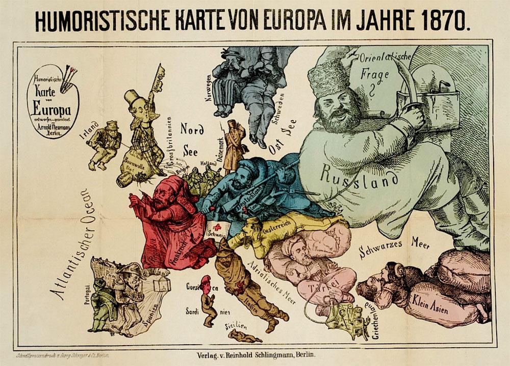 Vaak Kruitvat in kaart. De Balkan 1871-1914. Opmaat tot de Eerste  #CJ35