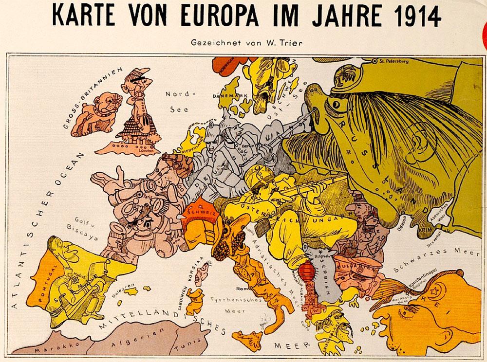 Geliefde Kruitvat in kaart. De Balkan 1871-1914. Opmaat tot de Eerste  &FL22