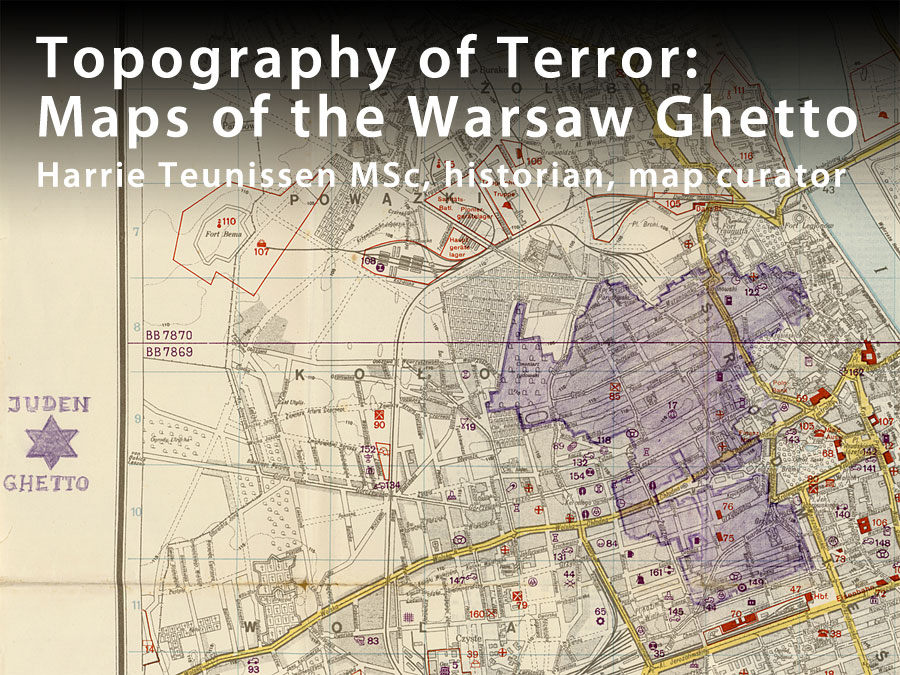Topography Of Terror Maps Of The Warsaw Ghetto - Where is warsaw