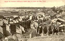 Shkodër's burnt-out bazaar