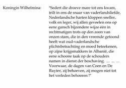 Pjesë nga fjalimi i Mbretëreshës Wilhelmina