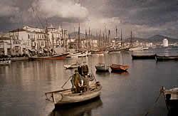Havenfront van Saloniki 1913
