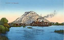 Mountain fortifications west of Shkodër