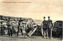 Turkish positions near Shkodër