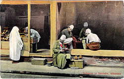Shoemaker's shop in Shkodër