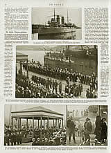 """Fotoreportage van """"De Prins"""" over staatsbegrafenis Thomson"""