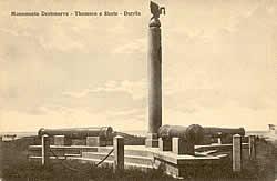 Monumenti për Tomsonin në Durrës më 1923