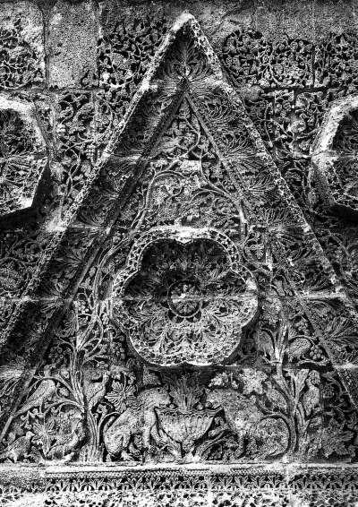 Afb. 1.: Bas-reliëf Qasr al-Mshatta