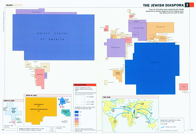 The Jewish Diaspora, in: Jeanne O'Brien & Martin Palmer, The State of Religion Atlas, Londen 1993