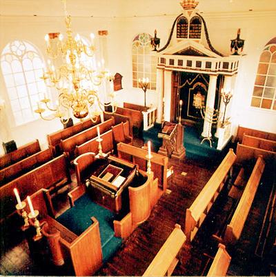 Interieur Synagoge Leiden
